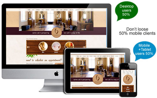 Mobile Website (Responsive Website)